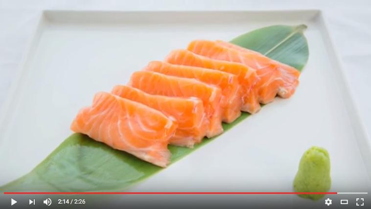 Cách Phile cá hồi nguyên con chuẩn Sashimi