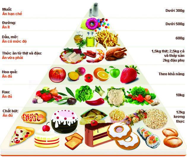 Chế độ dinh dưỡng – quyết định cuộc đời ?
