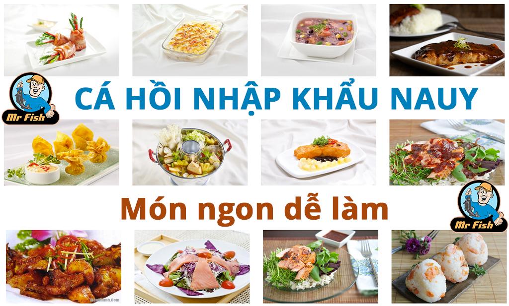 Cá hồi nhập khẩu Nauy nguồn dinh dưỡng quý giá