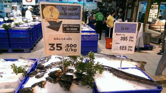 Tại sao cá hồi Việt bị mất tích ở siêu thị ?