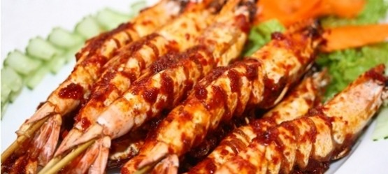 Salt-Grilled Shrimp